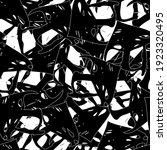 seamless monochrome pattern of... | Shutterstock .eps vector #1923320495