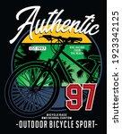 bicycles  vector typography...   Shutterstock .eps vector #1923342125