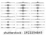 line borders  dividers and... | Shutterstock .eps vector #1923354845