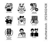 generation z icons set glyph... | Shutterstock .eps vector #1923432428