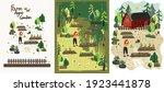 agro farm and garden... | Shutterstock .eps vector #1923441878