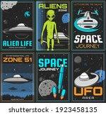 alien zone  ufo space journey... | Shutterstock .eps vector #1923458135