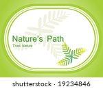 vector wallpaper  ecology frame ...   Shutterstock .eps vector #19234846