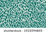 Leaves Seamless Pattern. Green...
