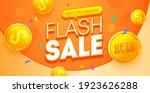 flash sale discount banner... | Shutterstock .eps vector #1923626288