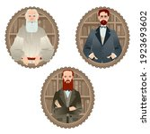history of russia. famous... | Shutterstock .eps vector #1923693602