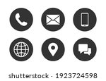 contact information icons ...