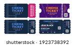 Cinema Tickets On Background....