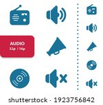 audio  sound  music icons.... | Shutterstock .eps vector #1923756842