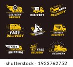delivery  shipping fast  free ...   Shutterstock .eps vector #1923762752