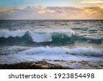 Seaside Beach Landscape And...