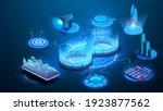 devops software development...   Shutterstock .eps vector #1923877562