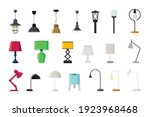 lamps of different types...   Shutterstock .eps vector #1923968468