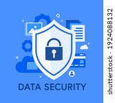 global data security  personal... | Shutterstock .eps vector #1924088132