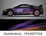 racing car decal wrap design.... | Shutterstock .eps vector #1924097318