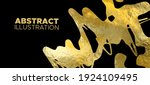vector black and gold design... | Shutterstock .eps vector #1924109495