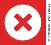 wrong marks  cross marks ... | Shutterstock .eps vector #1924110188