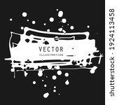 vector splats splashes and... | Shutterstock .eps vector #1924113458