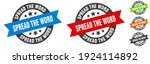 spread the word stamp. spread... | Shutterstock .eps vector #1924114892