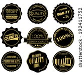 collection of premium and high... | Shutterstock .eps vector #192411752