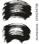 round brush thick curved... | Shutterstock .eps vector #1924154738