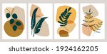 botanical wall art vector set.... | Shutterstock .eps vector #1924162205