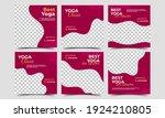 social media post template set...   Shutterstock .eps vector #1924210805