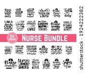 huge nurse bundle of 24 svg... | Shutterstock .eps vector #1924222382