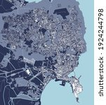 vector map of the city of... | Shutterstock .eps vector #1924244798