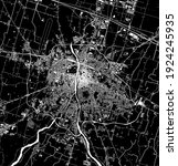 vector map of the city of parma ... | Shutterstock .eps vector #1924245935
