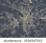 vector map of the city of... | Shutterstock .eps vector #1924247312