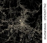 vector map of the city of... | Shutterstock .eps vector #1924247762