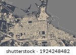 vector map of the city of bari  ... | Shutterstock .eps vector #1924248482