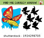 butterfly on a flower. find the ...   Shutterstock .eps vector #1924298705