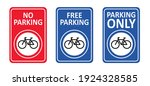 No Bicycle Parking Space Zone...