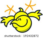 cool yellow chicken with a...