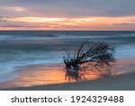 Sunrise Over The Atlantic Ocean ...