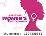 celebrating women's history...   Shutterstock .eps vector #1924338968