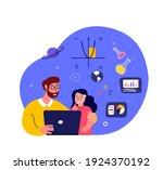 online education for children...   Shutterstock .eps vector #1924370192