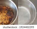 Compare Burnt Pan Image Before...