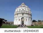 Bapistery of Pisa,Campo dei Miracoli   Italy