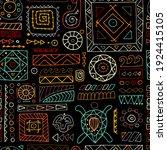 ethnic handmade ornament for... | Shutterstock .eps vector #1924415105