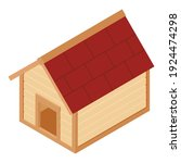 dog house isometric view... | Shutterstock .eps vector #1924474298