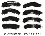 round brush thick curved... | Shutterstock .eps vector #1924511558