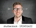 arrow through the head | Shutterstock . vector #192451622