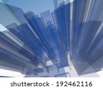 abstract architecture  | Shutterstock . vector #192462116