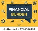 creative  financial burden ...   Shutterstock .eps vector #1924647398