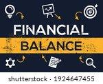 creative  financial balance ...   Shutterstock .eps vector #1924647455