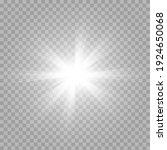 vector white light. sun  sun... | Shutterstock .eps vector #1924650068