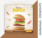 editable social media post... | Shutterstock .eps vector #1924651472